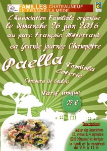 affiche paella 2016